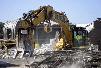 VIDEO: Demolition Underway at Future Energy Park site