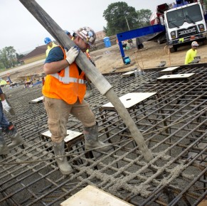 Video: Barton Malow Pours Concrete for Unit 10