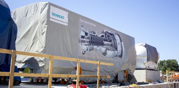 Turbines and Generators are in place for Units 10 & 11