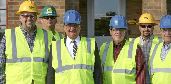 Senator Peters Visits Holland Energy Park